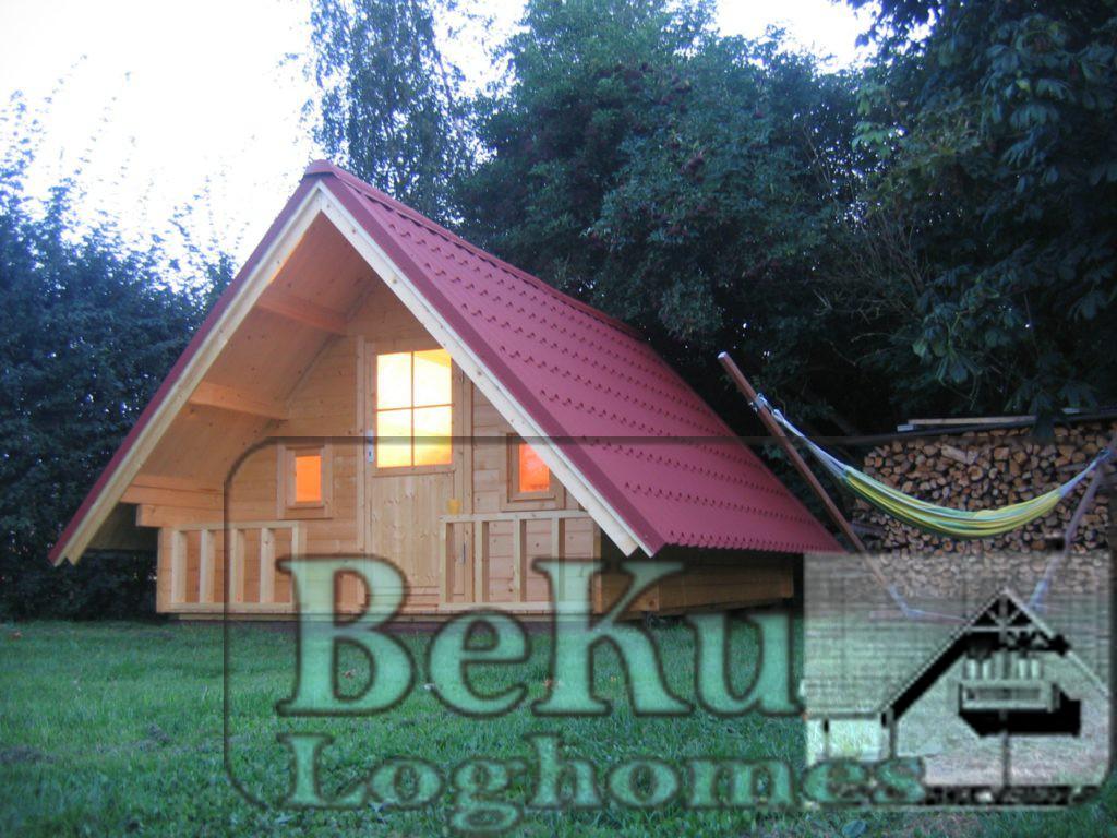 BEKU-Loghomes Trekkerhut, Slaaphut, Blokhut, Tuinhuis