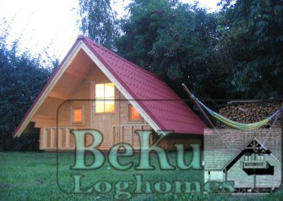 BEKU-Loghomes Trekkershut