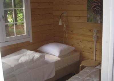 Chalet met 2 slaapkamers en een toilet
