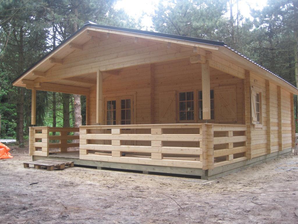 Blokhut Finse Lodge - BEKU-Loghomes
