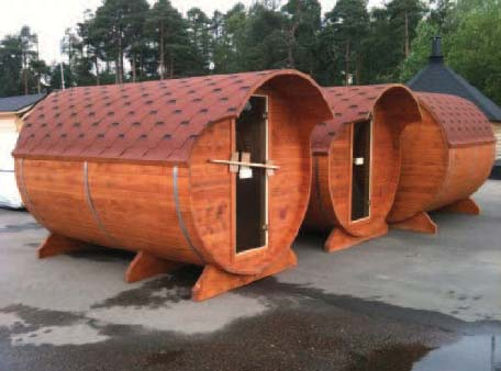 BEKU-Loghomes Finse Sauna