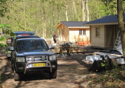 Tuinhuis Chalet Gastenverblijf Tuinkantoor Trekkershut Sanne