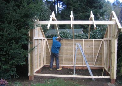 Kapschuur houtbouw Beku Dendolder 0057
