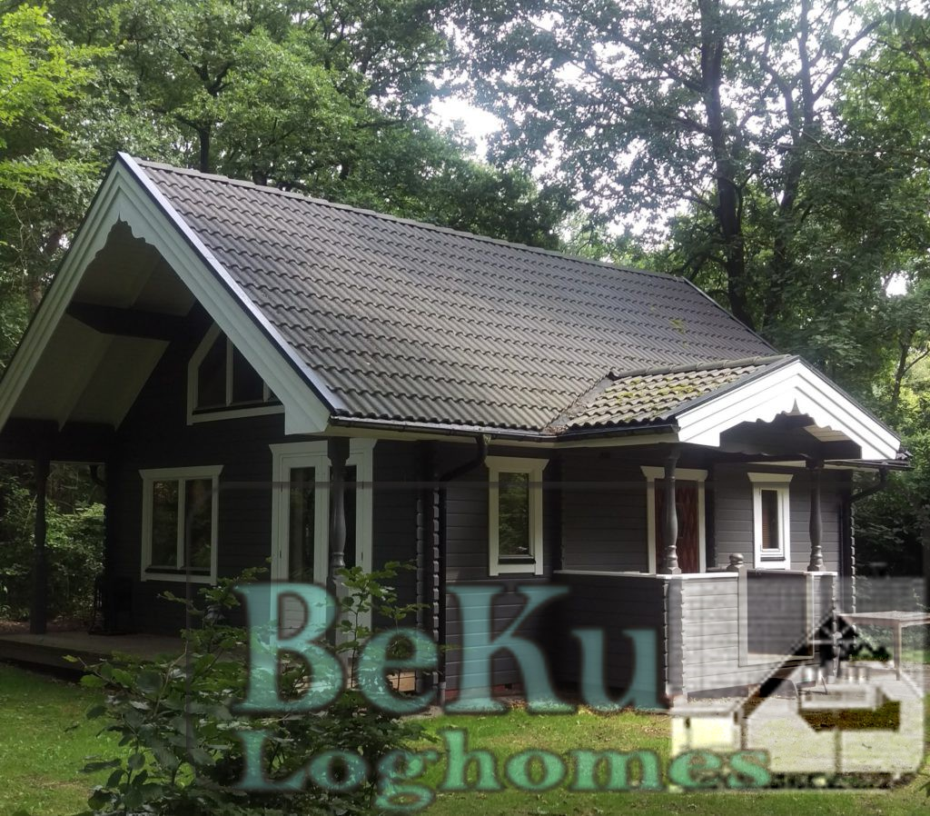 BeKu-Loghomes, Blokhut, Chalet, recreatie woning Maria 2 Houtstapelbouw